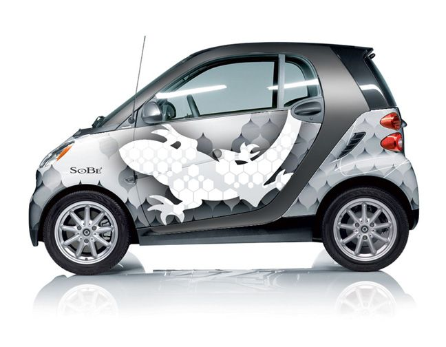 Smart USA Car QPot Chocolate Wrapping for Valentines Day – Smart Car Wrap Template