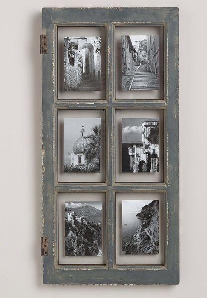Bilderrahmen Aus Altem Fenster.