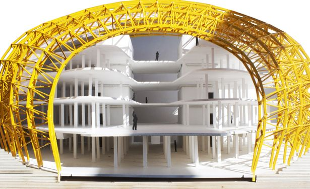 Berlin Free Philological Library Model Architecture Model