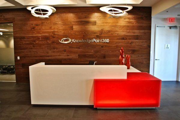 Commercial Cabinet Design And Custom Design Corporate Furniture   Salon  Interiors Inc. Office Reception DesksReception Desk ...