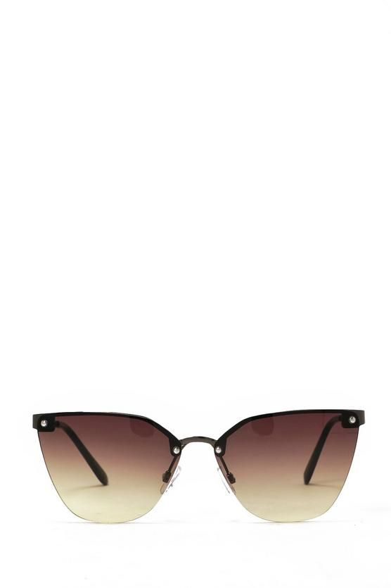 1f346656be Cat Got Your Tongue Half-Frame Shades