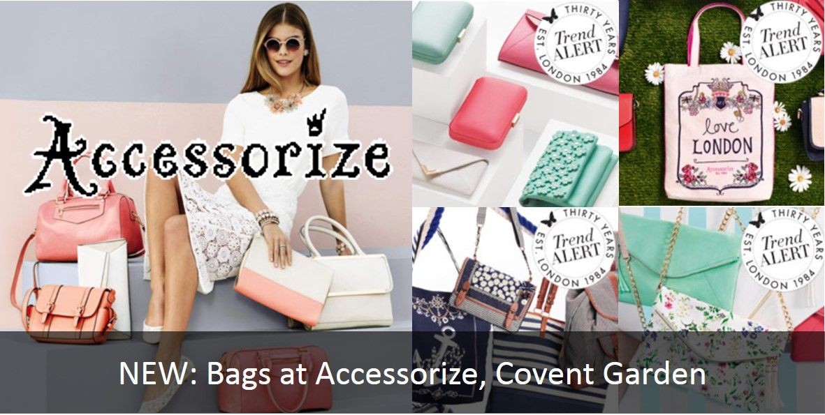 NEW: Bags at Accessorize Covent Garden!