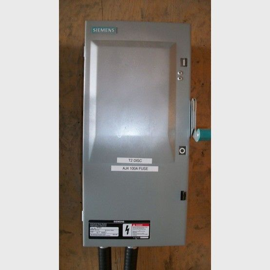 100 Amp Disconnect >> Siemens Fusible Disconnect Supplier Worldwide Used Siemens 100 Amp