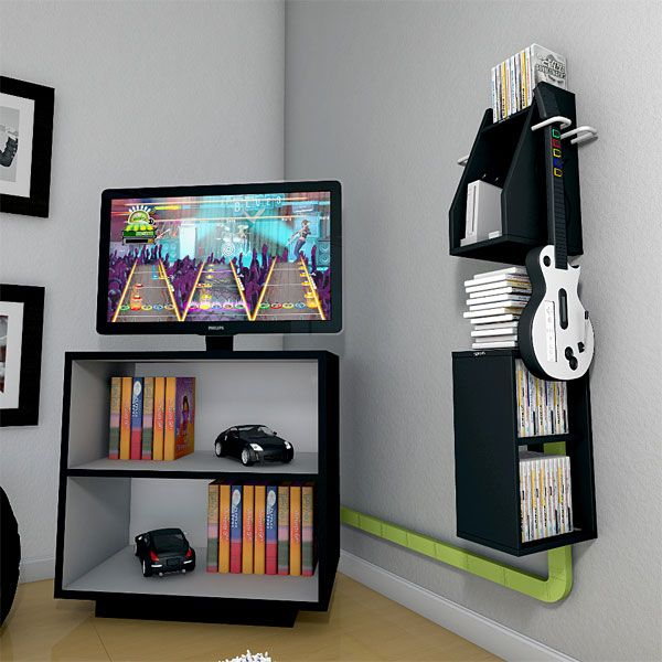 Here are five garage storage tips to try. Game storage | Console storage, Gaming console storage ...