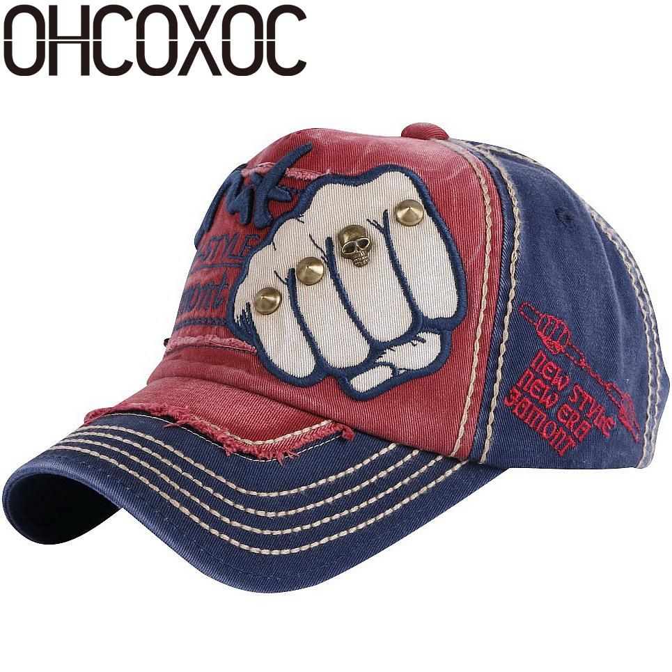 96a9632949bf1d OHCOXOC new trendy women men novelty baseball cap Good quality cotton  washable spring summer autumn sports caps hats. Yesterday's price: US  $12.66 (11.28 ...