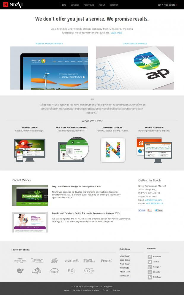 Niyati Digital Agency Web Design And Logo Design Website Design Company Webdesign Inspiration Ww Web Design Website Design Company Web Design Inspiration