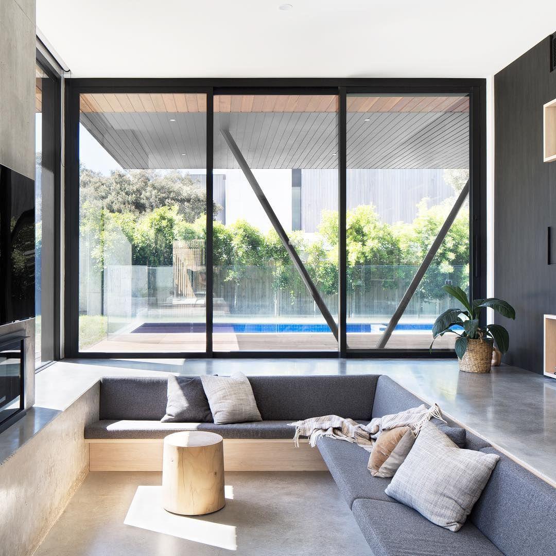 Love Sunken Lounges Sunken Living Room Japanese Home Design Apartment Bedroom Design View modern home decor living room png