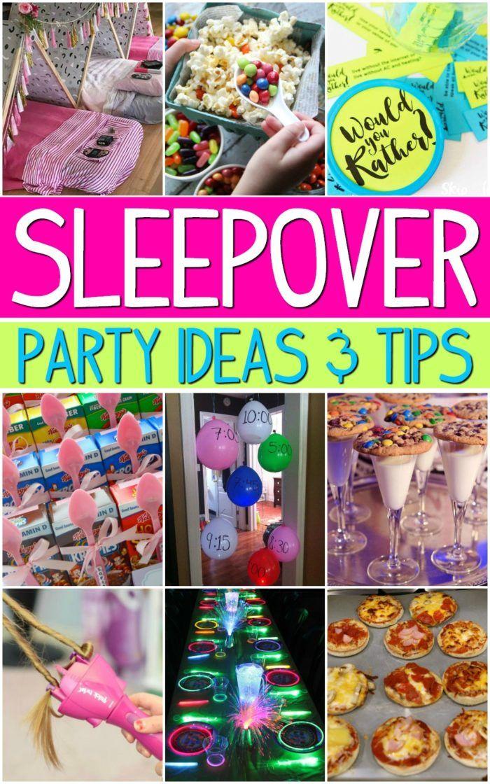 Sleepover Ideas for the Girls