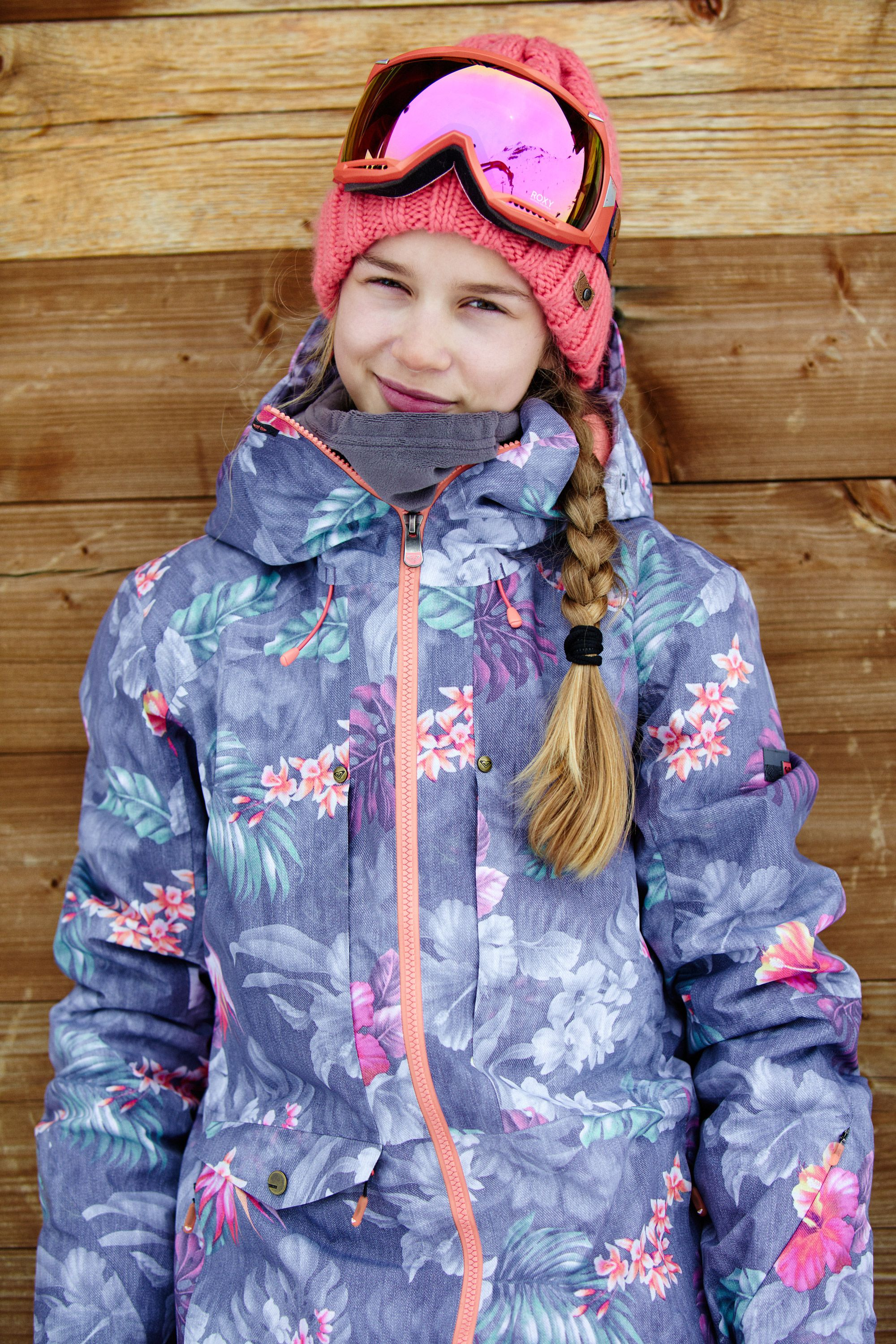459bcbb60 Kelly Sildaru in the Essence 2L GORE-TEX® Snow Jacket  ROXYsnow ...