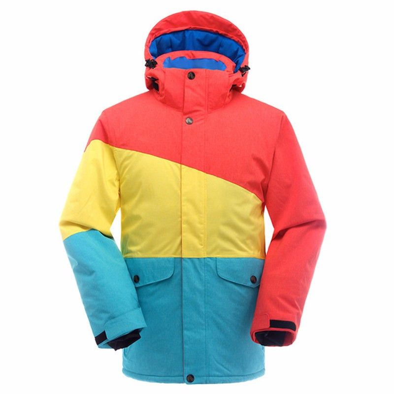 33c718cdac 2 colors 4 sizes snowboard jacket men s ski jacket waterproof breathable  winter jacket snow coat for mountain skiing ski clothes