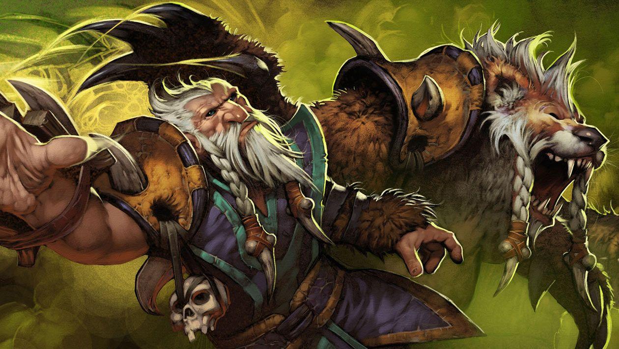 Lone Druid - Characters & Art - Dota 2   Lone druid, Druid, Warriors  wallpaper