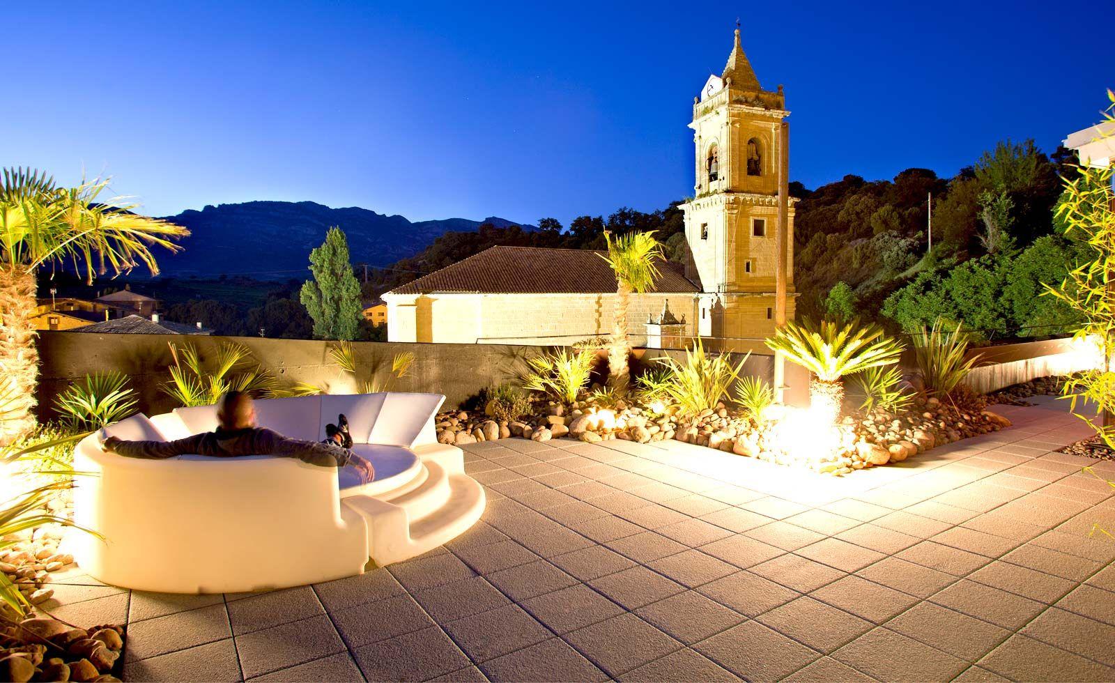 Terrace Of The Viurahotel In Rioja Spain Hotel