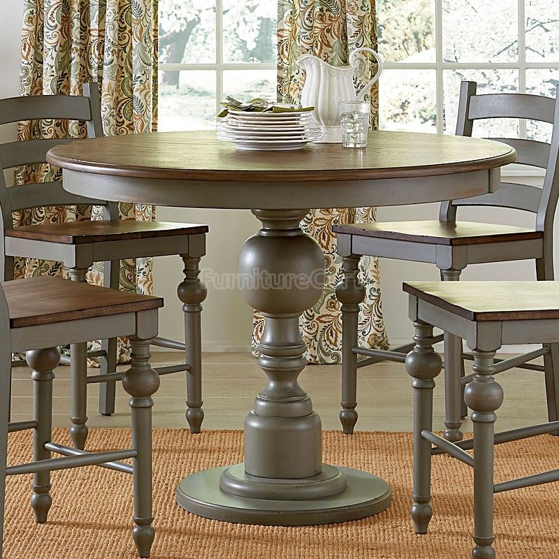 Colonnades Round Counter Height Table With Images Round Counter Height Table Painted Kitchen Tables Round Dining Table