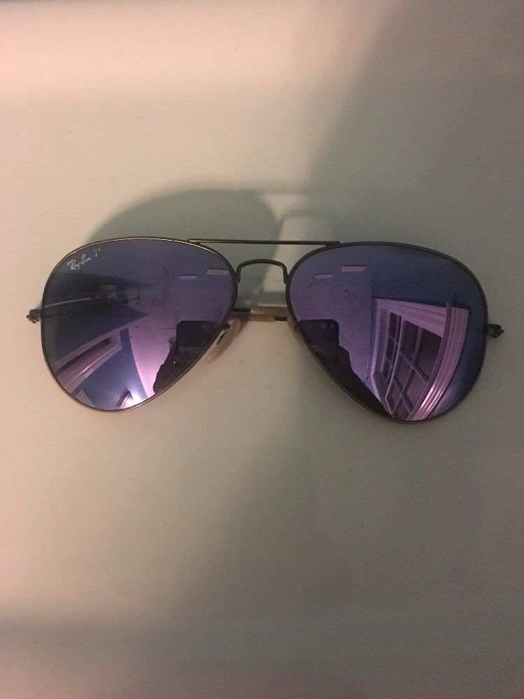 14c2ea6d93 ray ban sunglasses women aviator Bronze Lilac Mirrored Polarized  fashion   clothing  shoes  accessories  unisexclothingshoesaccs  unisexaccessories ( ebay ...