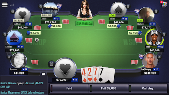 Online mobile poker game how to play street craps with multiple players