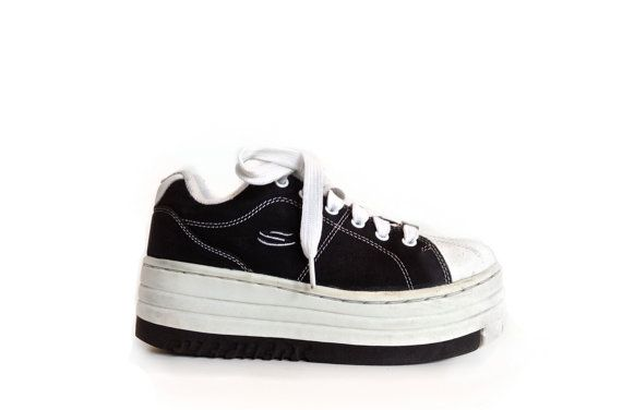 white sneakers, 90s shoes, Crazy shoes