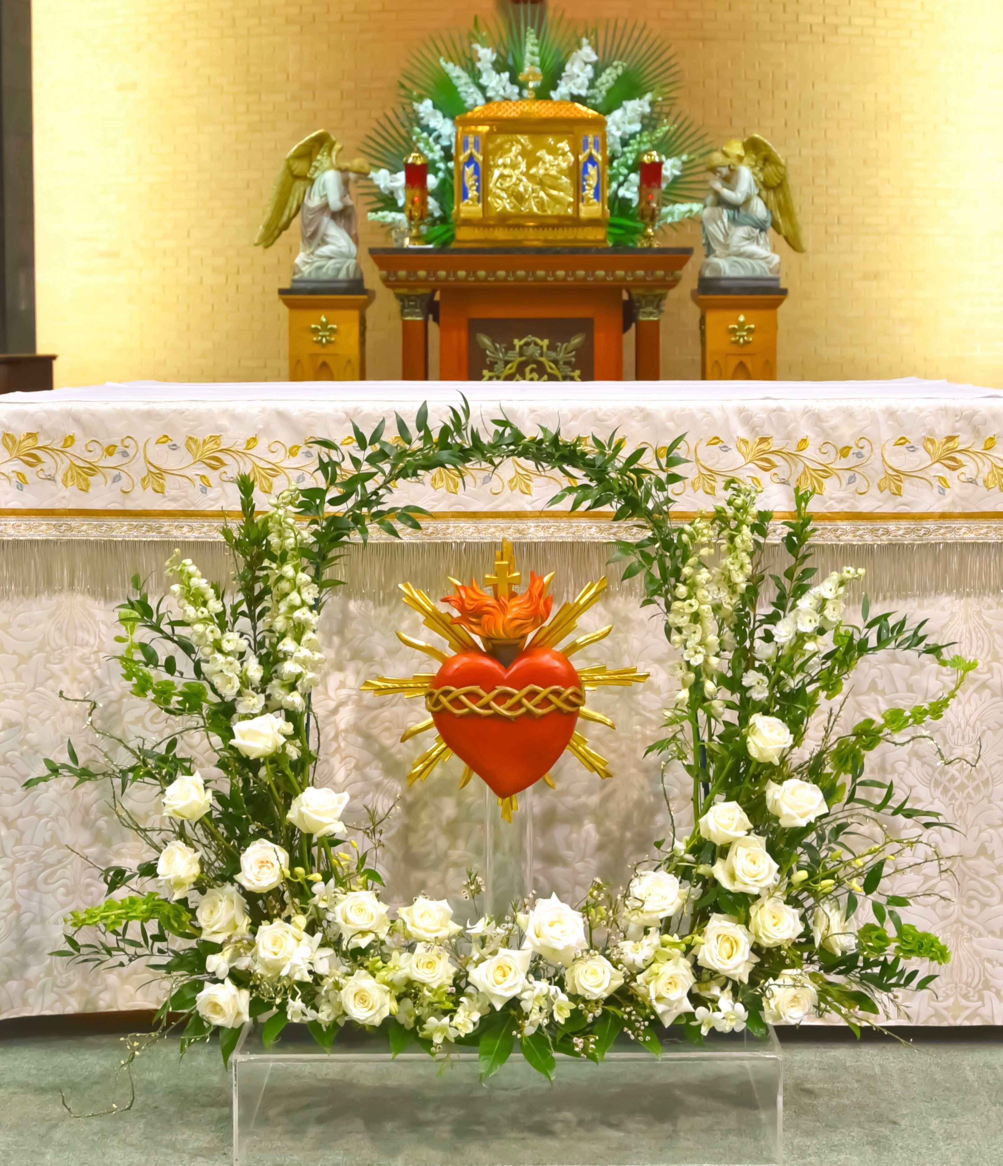 Feast Of The Sacred Heart Epiphany Of The Lord Catholic Church