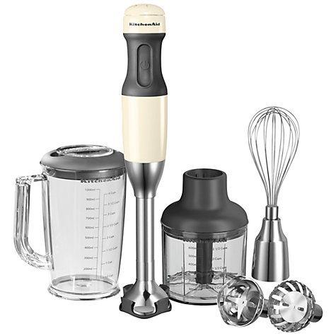 Kitchenaid Hand Blender Almond Cream Hand Blender Almond Cream Smoothie Makers