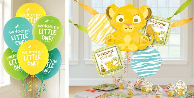 Lion King Baby Balloons Party City Birthday
