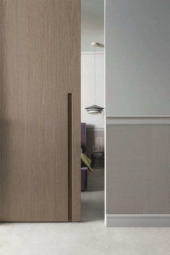 New Lualdi Collections Presented At MDW Simple Elegance For Doors - Porte placard coulissante avec serrurier 75006