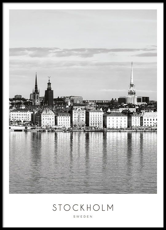 Poster With Stockholm