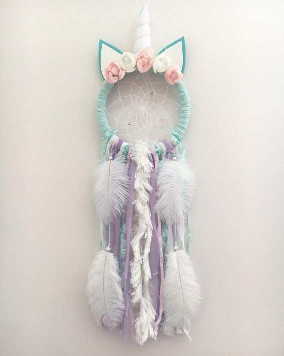 Olivia Unicorn Dream Catcher #littleunicorn