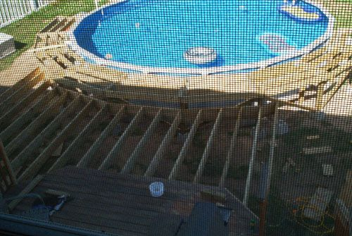27 Round Pool Deck Plans Framing Of The Splash Deck And The Framing Of The