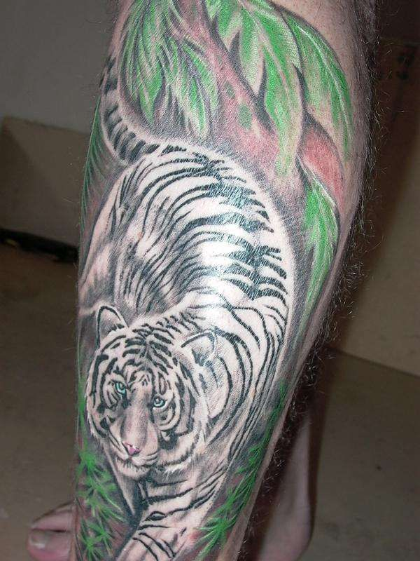 Pictures Of Tiger Tattoos White Tiger Tattoo For Lengthy Placement