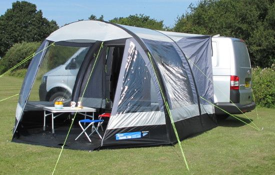 K&a Travel Pod AIR Mini drive-away motorhome awning & Kampa Travel Pod AIR Mini drive-away motorhome awning | MotorHome ...