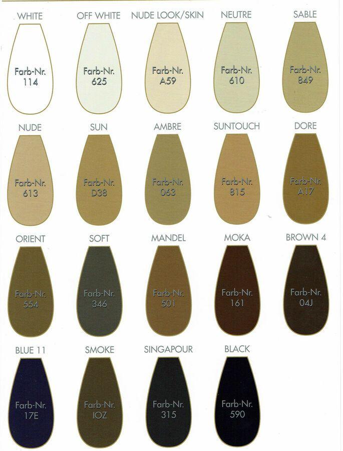 Oroblu Tights Sensuel 13 Pure Beauty sheer to waist pantyhose ultra-sheer