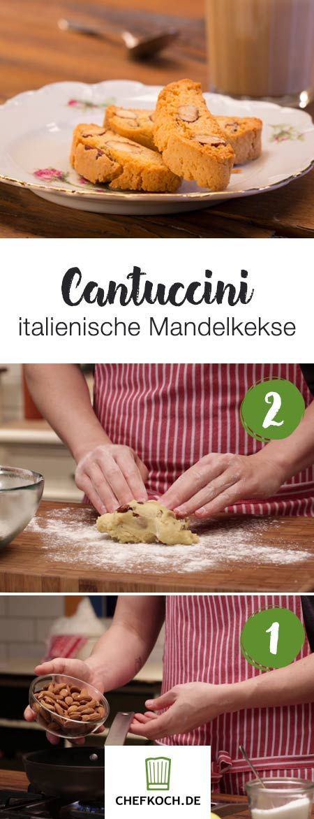 Cantuccini: italienische Mandelkekse | Chefkoch.de Video #repasdefete