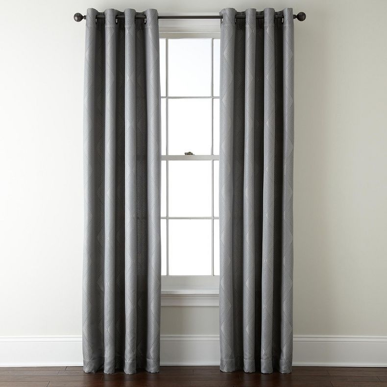 Jcpenney Studio Bungalow Grommet Top Curtain Panel Jcpenney