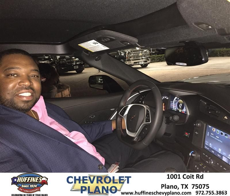 """I have to say this was the """"most amazing car purchasing experience"""" I've ever had. From the purchase to financing, this was a well defined seamless process. The staff """"Mark Ferguson - Sale Rep, Burl Thomas - Finance, and Chris Ninos -Sales Manager"""" at Huffines Chevrolet in Plano were on the top of everything.  I went to several dealerships before coming to Huffines and received the best presales treatment by far. I highly recommend this place!-Tony Washington, Monday, August 31, 2015…"""