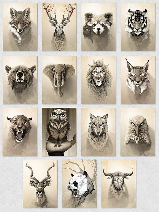 7320 D233 520 Jpeg 520 693 Tatuajes De Animales Tatuaje