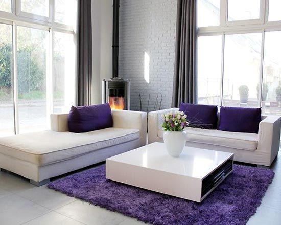 purple living rooms - Bing Images Decora Pinterest Living