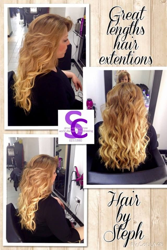 Great Lengths hair extensions by Steph #hair #extensions