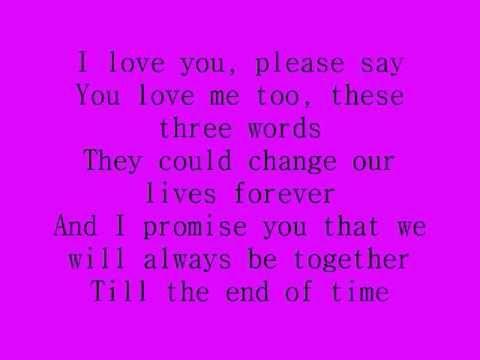 Celine Dion I Love You Lyrics Love Yourself Lyrics Yours Lyrics I Love You Baby