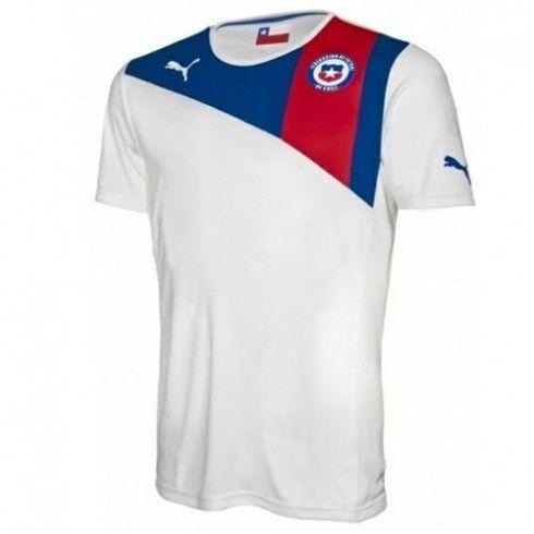 La selección de Chile 2012 13 Away Camiseta futbol  360  - €16.87   Camisetas  de futbol baratas online! fc8592a652030