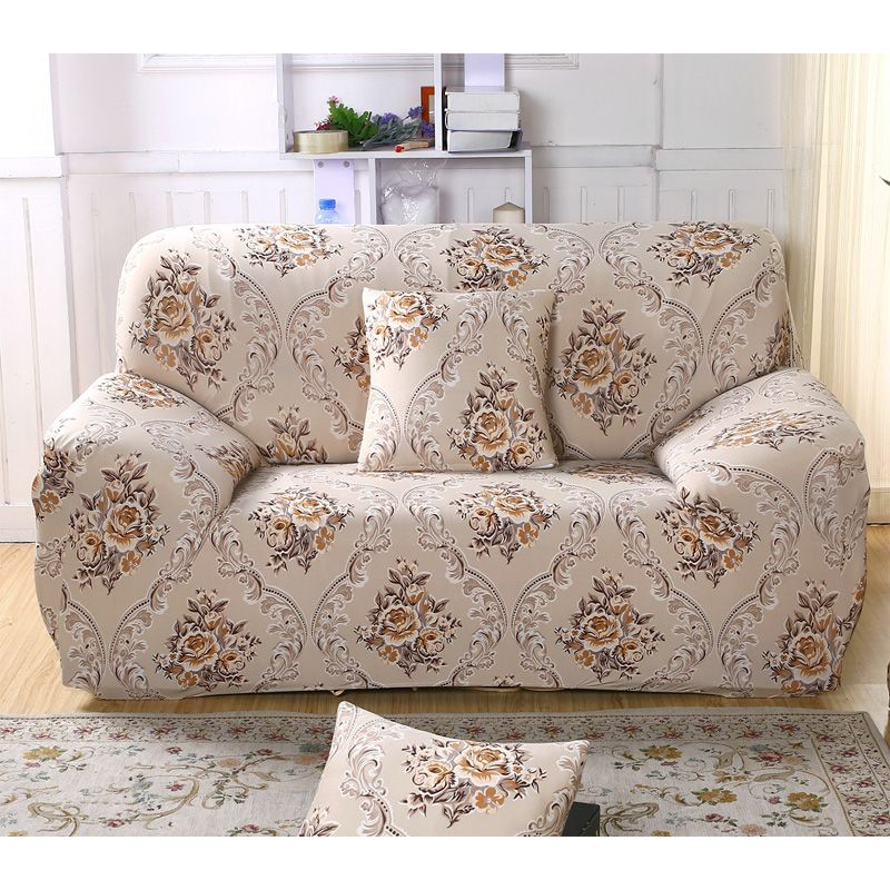 3 Seater Plush Stretch Slipcovers Elastic Sofa Cover Couch Protector Thickening