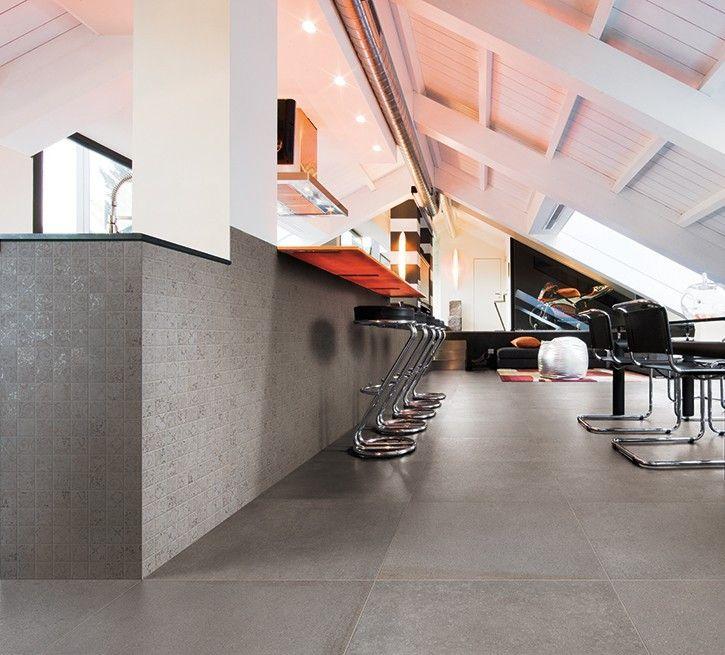 Cerdomus #Contempora Piombo 40x60 cm 60626 #Feinsteinzeug - küche fliesen boden