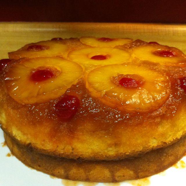 Paula Deen S Pineapple Upside Down Cake Upside Down Cake Pineapple Upside Down Cake Best Cake Recipes