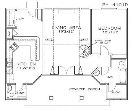 Pool House Plan Pool House Plans Beach Style House Plans Cottage Style House Plans
