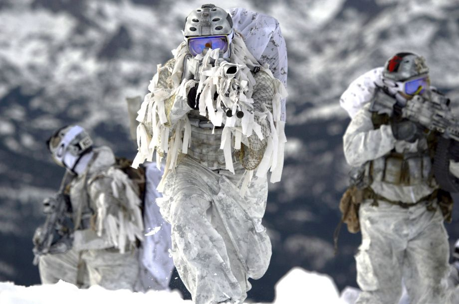 rule number one of special ops always look cool navy seals do