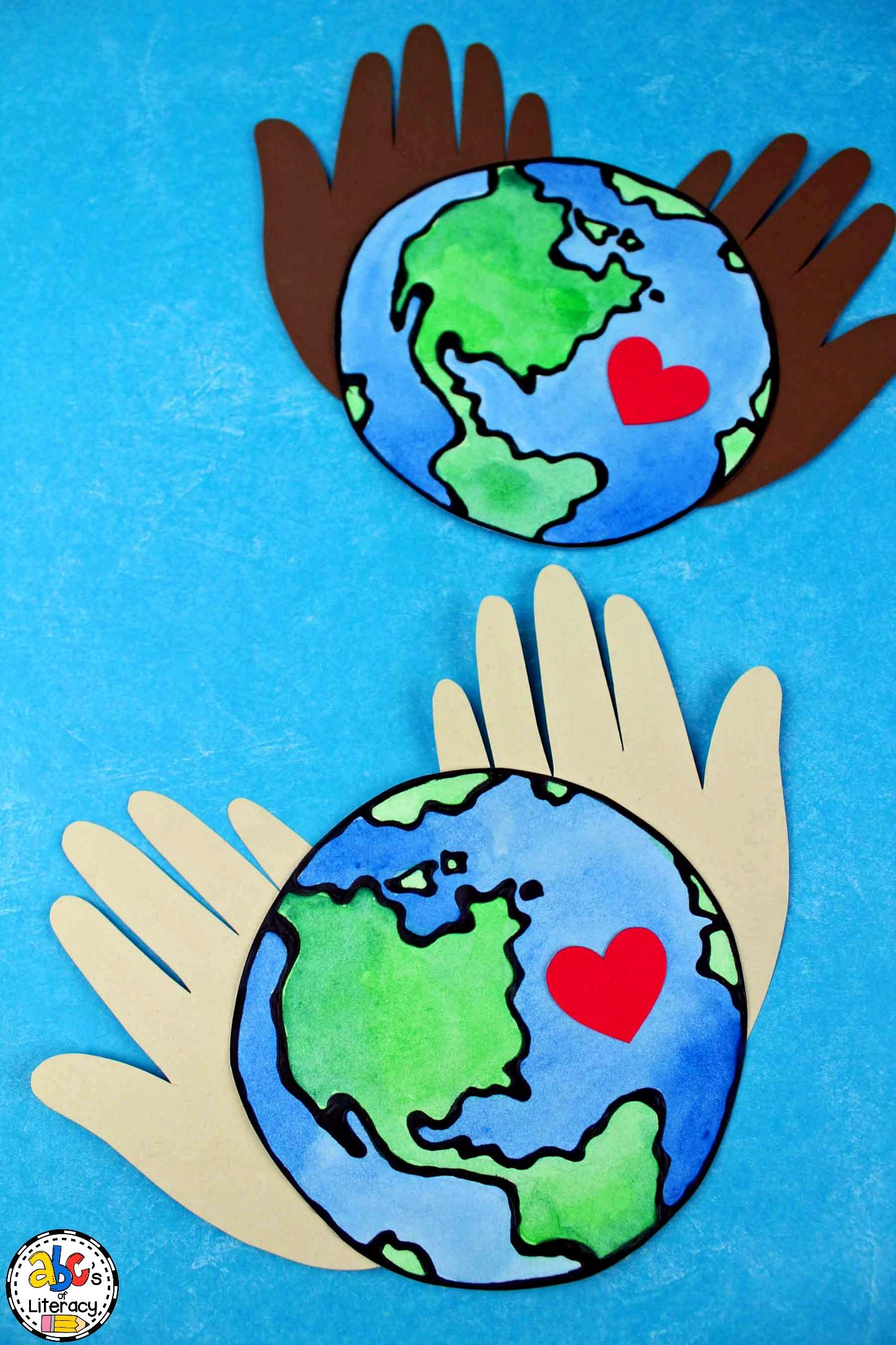 How To Make An Earth Day Hand Print Craft To Celebrate