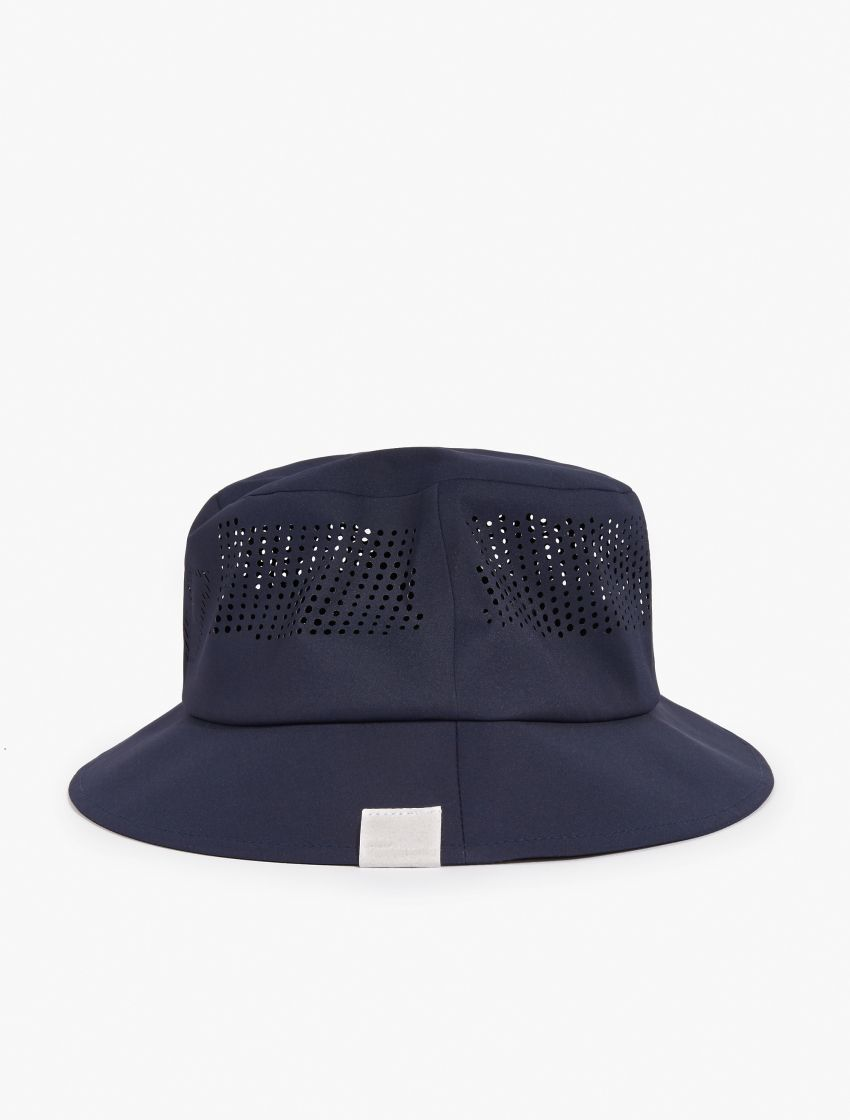 35be88c0d White Mountaineering,Navy Flexfit Delta Mesh Bucket Hat,NAVY,2 ...