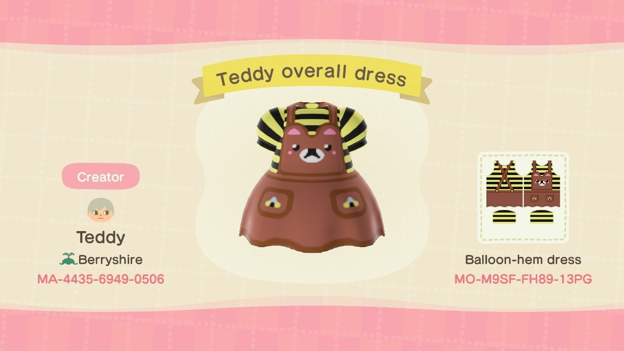 10+ Teddy animal crossing new horizons images