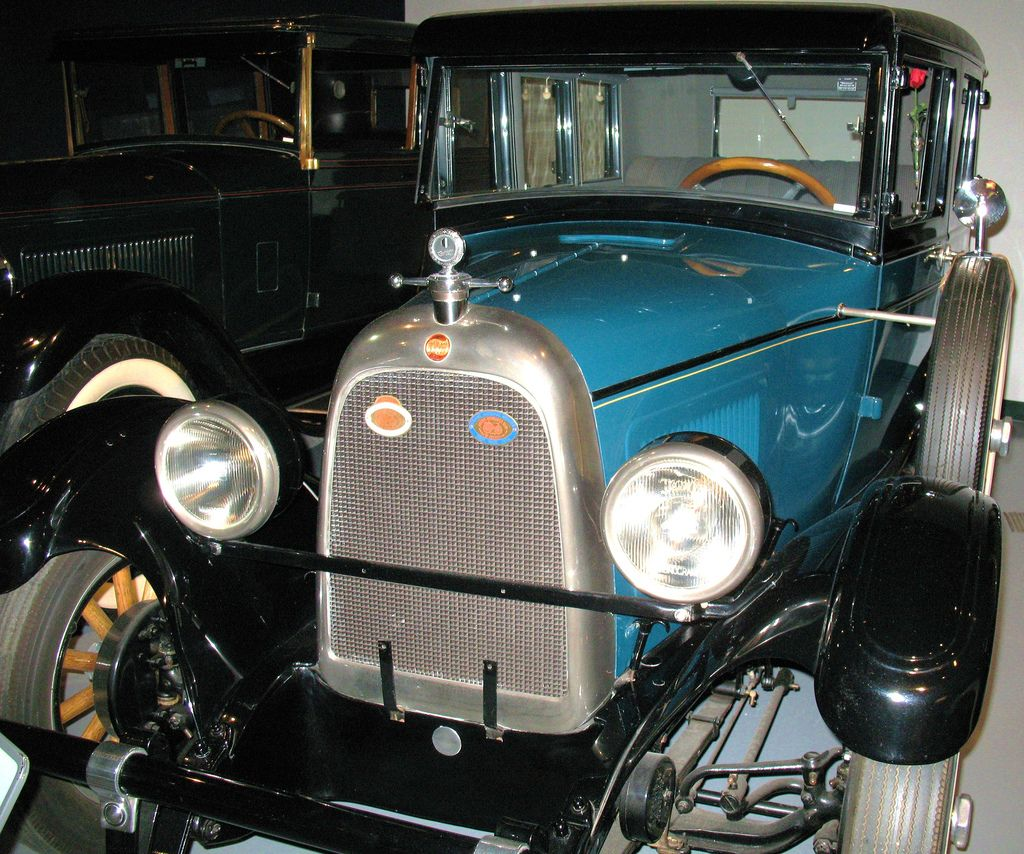 1927 Willys Overland Whippet Model 96 5 Passenger Sedan With 4