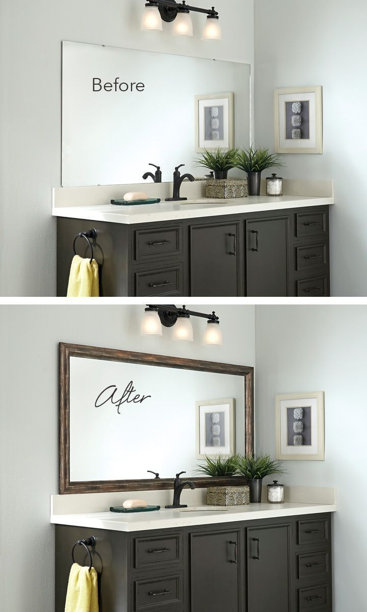 All about bathroom mirror ideas diy, frames, master ...