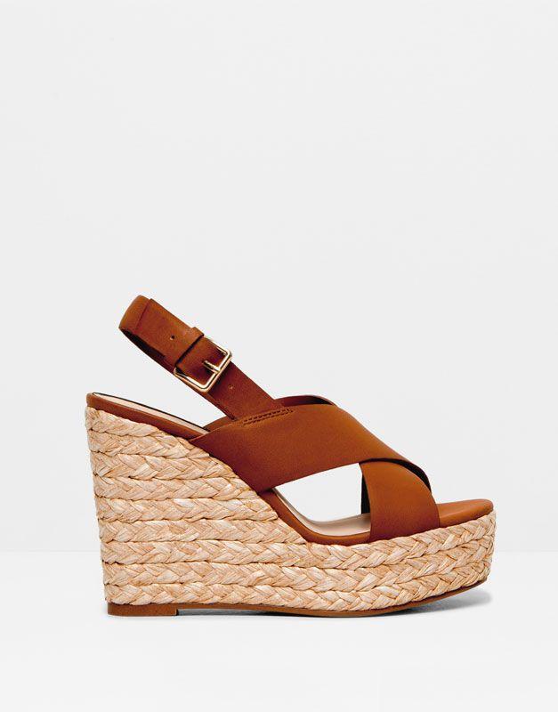 Sandálias Fashion Cunha 2019 En CruzadasSandalias Zapatos pLVSzMGqU