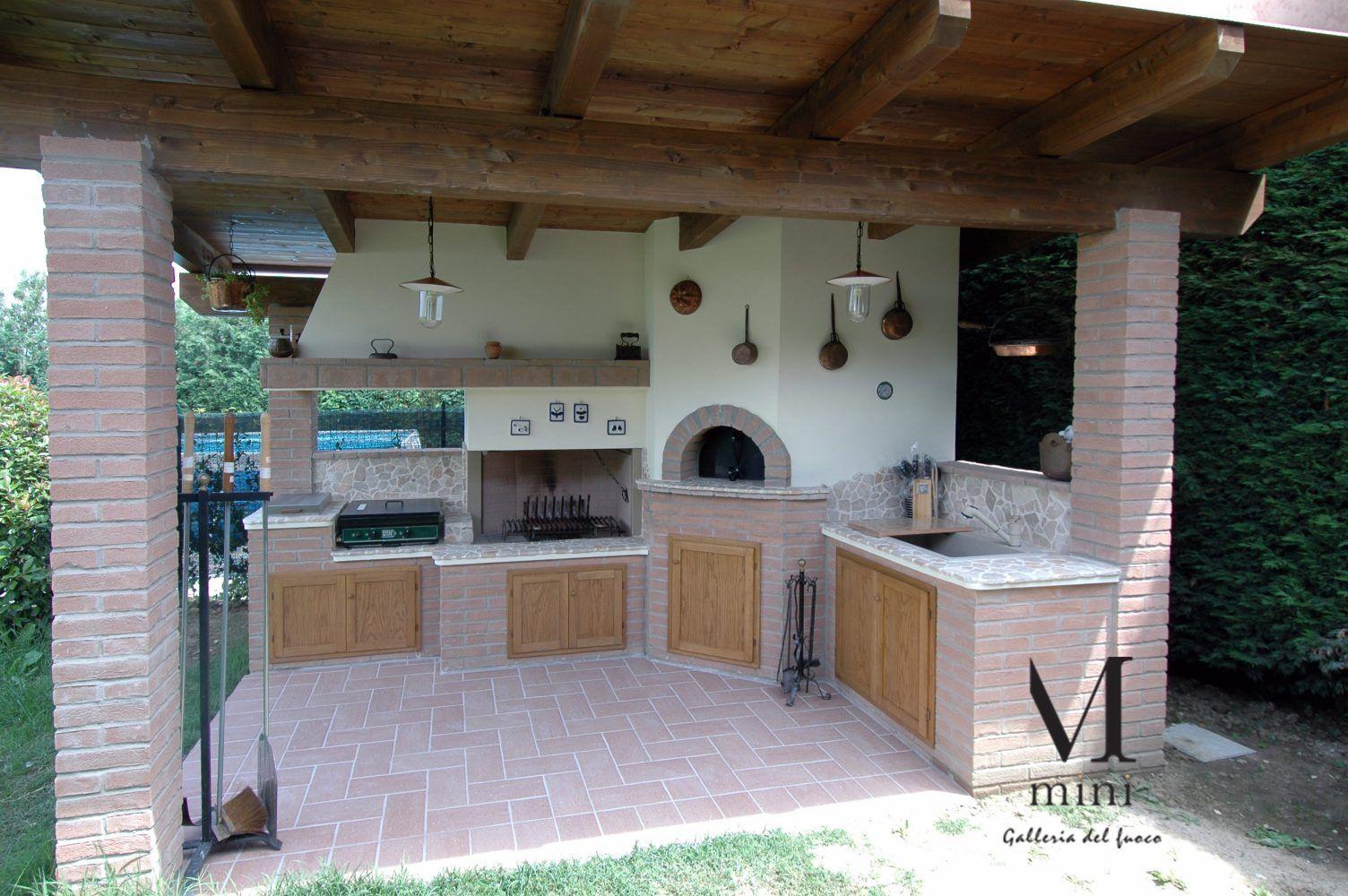 fornotettoiarusticobarbecue Forno esterno, Area